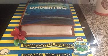 The 'Undertow' launch cake